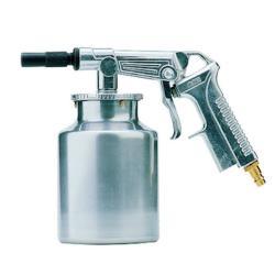 Sandstrahlpistole SSP-Strahlfix - Arbeitsdruck 6 bar - Düsen-Ø 5 mm - für Strahlmittel bis 0,8 mm Körnung