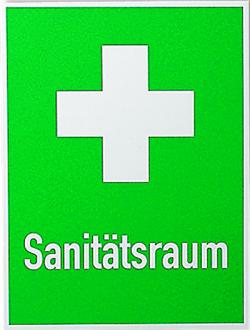 Rescue Signs - First Aid Rooms + First Air Cross