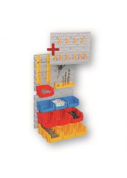 support Starter Set mur StorePlus Set P 31 - 31 pièces - Dimensions (L x P x H) 370 x 160 x 290 mm