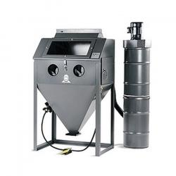 Injektor-Strahlkabine SM-HM-36.1 - Luftverbrauch max. 800 l/min - Innenraum 910 x 680 x  580 mm