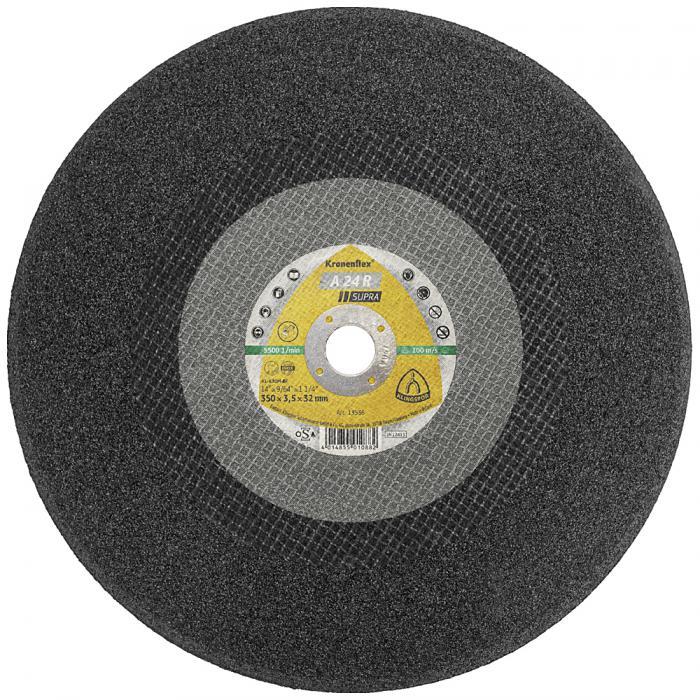 Großtrennscheibe A 24 R - Durchmesser 400 mm - Breite 4,5 mm - Bohrung 25,4 bis 32 mm
