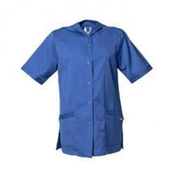 """Overstock - Kasak """"damer"""" - 1/4 Arm - 65% polyester, 35% bomull - färg ljusblå - Storlek 38"""