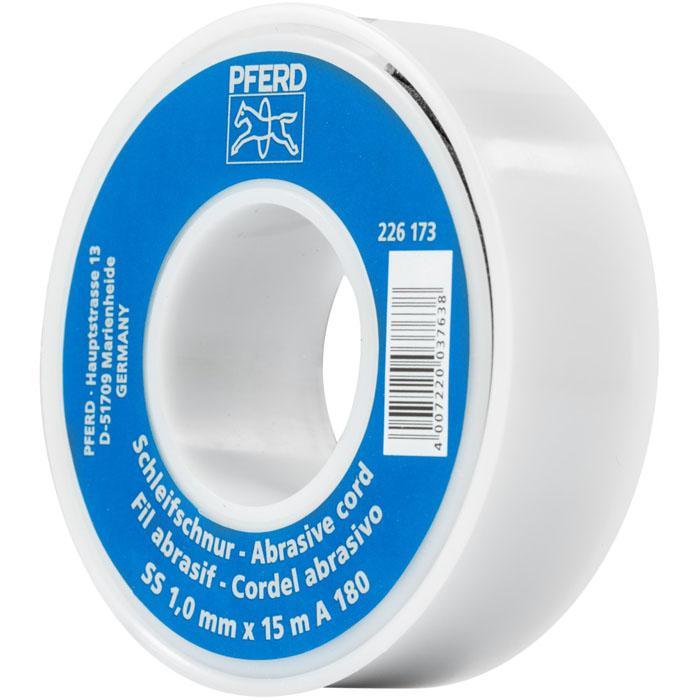 Schleifband - PFERD - Korundschleifschnur - Durchmesser 0,8 bis 2,1 mm