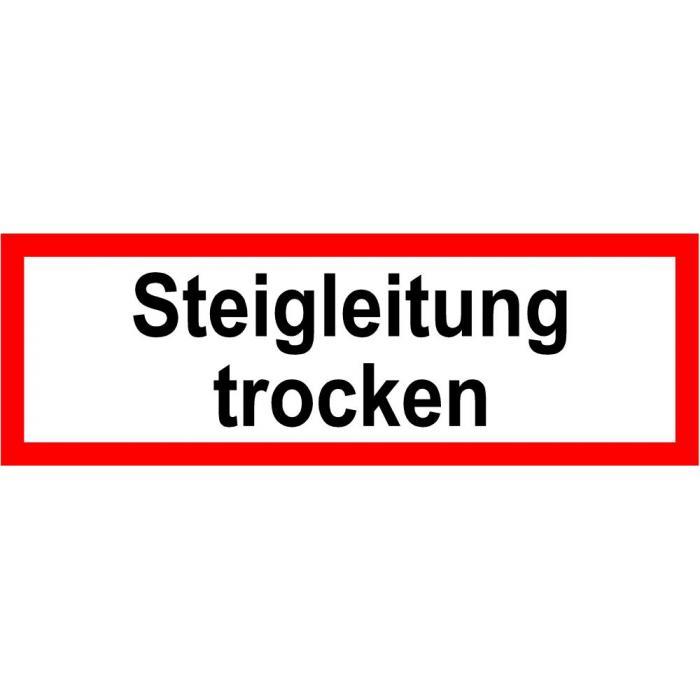 "Brandschutz - ""Steigleitung trocken"""