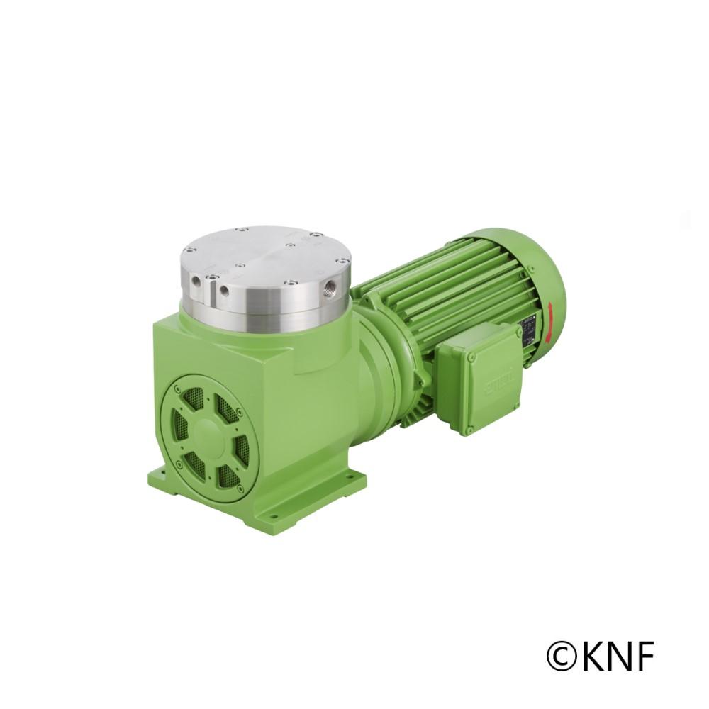 Pompe à vide à membrane et à air comprimé  - 150 l/min - sans huile, pour  l'ext