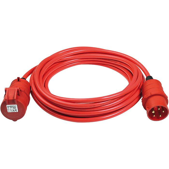 CEE-förlängningskabel - IP 44 - CEE 400 V / 16 A - BREMAXX