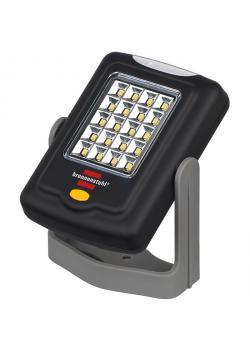 """LED-Universalleuchte """"HL DB 203 MH"""" - 20+3 LED - mit Bügel & Haken - Abmessungen 10 x 7 x 3 cm - VE 10 Stk. - Preis per VE"""