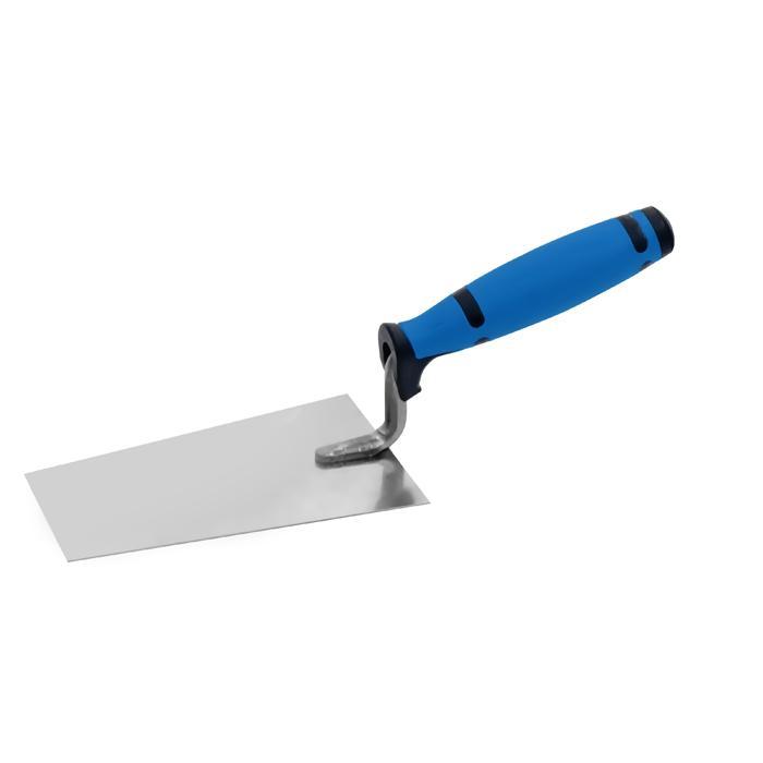 Berner Putzkelle rostfrei - Länge 120 bis 160 mm - Holz- oder Profigriff