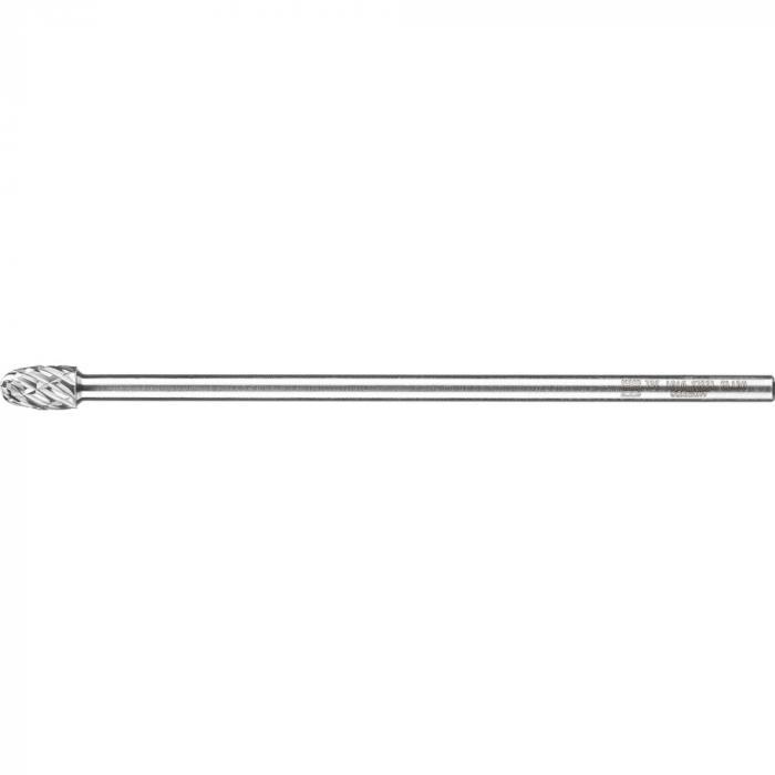 PFERD HM-Frässtift - Tropfenform TRE - STEEL - Frässtift-Ø 10 und 12 mm - Schaft-Ø 6 mm - SL 150 mm
