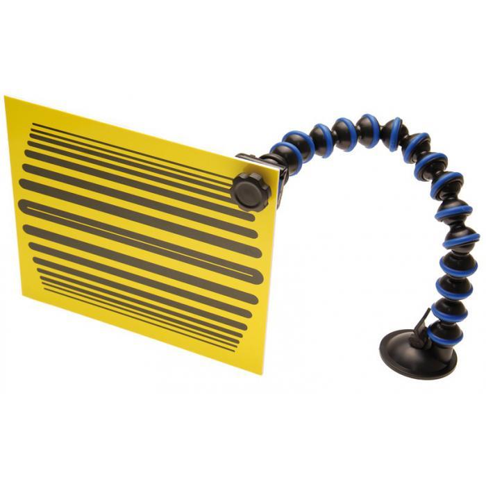 Fixiertafel - für Smart Repair - Tafelgröße 200 x 240 mm - Farbe gelb & weiß