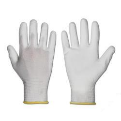 "Remaining Stock - Nylon Knitted Glove - ""teXXor"" White - Size M"