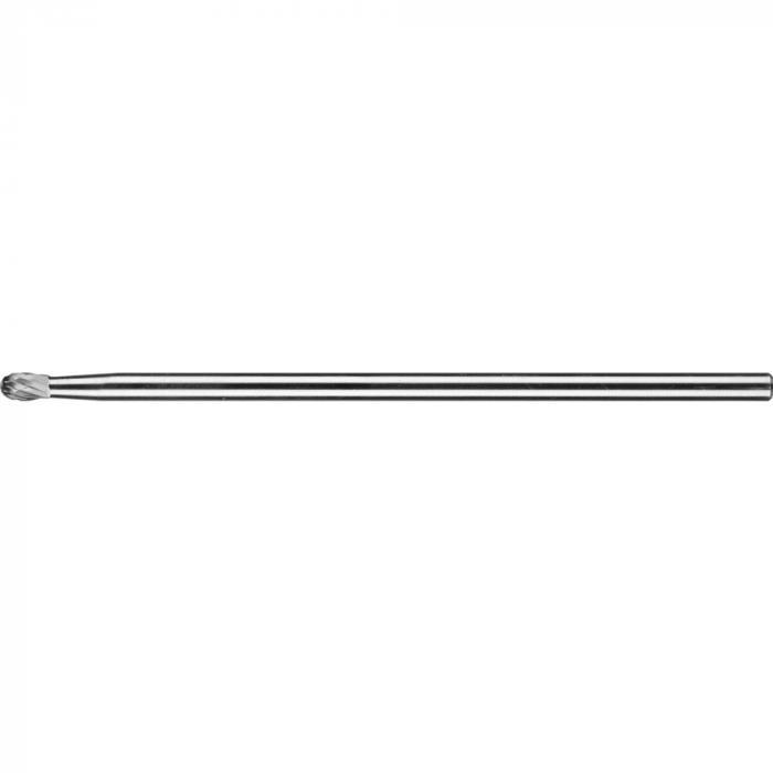 PFERD HM-Frässtift - Tropfenform TRE - 3 PLUS - Frässtift-Ø 6 und 10 mm - Langschaft-Ø 6 mm - SL 150 mm