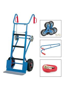 Machinery handtruck - 400 kg - completely - for big loads