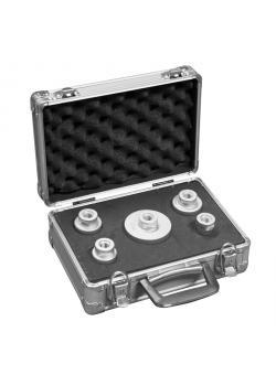 Diamant-Trockenbohrkronen Set - Durchmesser 25 bis 68 mm - in praktischem Koffer