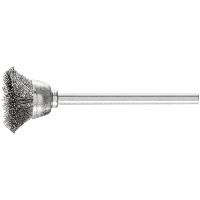 Topfbürste - PFERD - Bürsten-Ø 15 oder 18 mm - mit Edelstahlbesatz