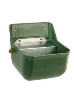 Drinking trough with float valve - Width 33 cm - Height 33.5 - Depth 28 cm - Capacity 5 to 8 l