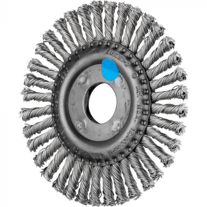 PFERD Rundbürste RBG - gezopft - Pipeline - INOX - Außen-ø 100 bis 178 mm - 32 bis 76 Zöpfe - Besatzmaterial-ø 0,50 mm - VE 10 Stück - Preis per VE