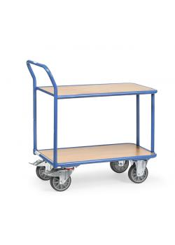 Table trolley - Capacity 300-400 kg - 2 shelves