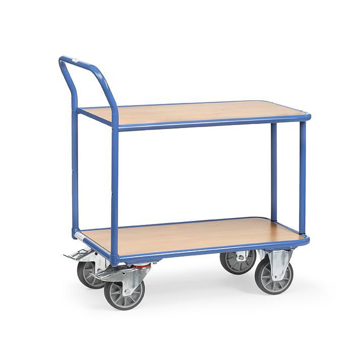 Tableau chariot - Capacité 300-400 kg - 2 tablettes