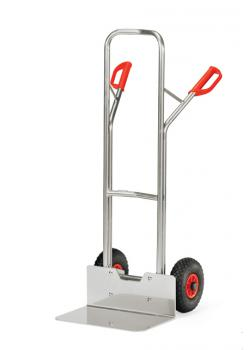 Alu hand truck - to 200 kg - height 1300 mm - wide blade