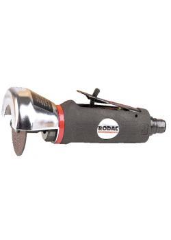 Smerigliatrice angolare RODAC 22000 1/min - 0,37 kW consumo aria 350 l/min