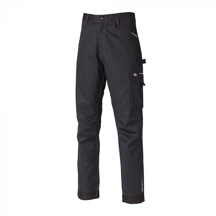 Pantaloni Lakemont - Dickies - taglie da 42 a 64 - nero / rosso