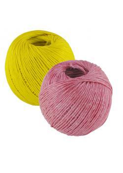 String - polypropylen - vände - färgstark - bollar - längd 280 m (4 x 70 m)