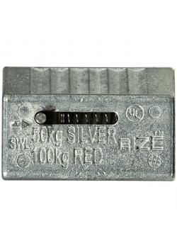 Tråd lås tråd Clip - Material Metall