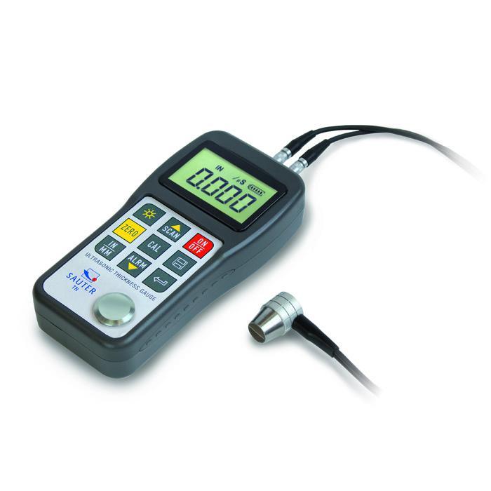 Digitaalinen Ultraääni Paksuusmittari - ja ilman tietoa RS-232 - max. Mittausalue 0,75 jopa 300 mm: