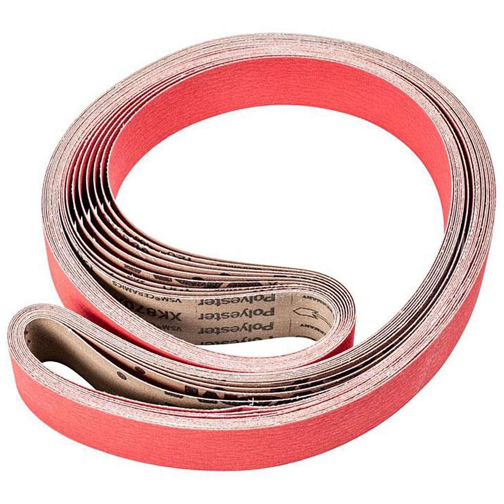 Schleifband - PFERD - Keramikkorn CO-COOL - Korngröße 36 bis 120 - VE 10 Stück - Preis per VE