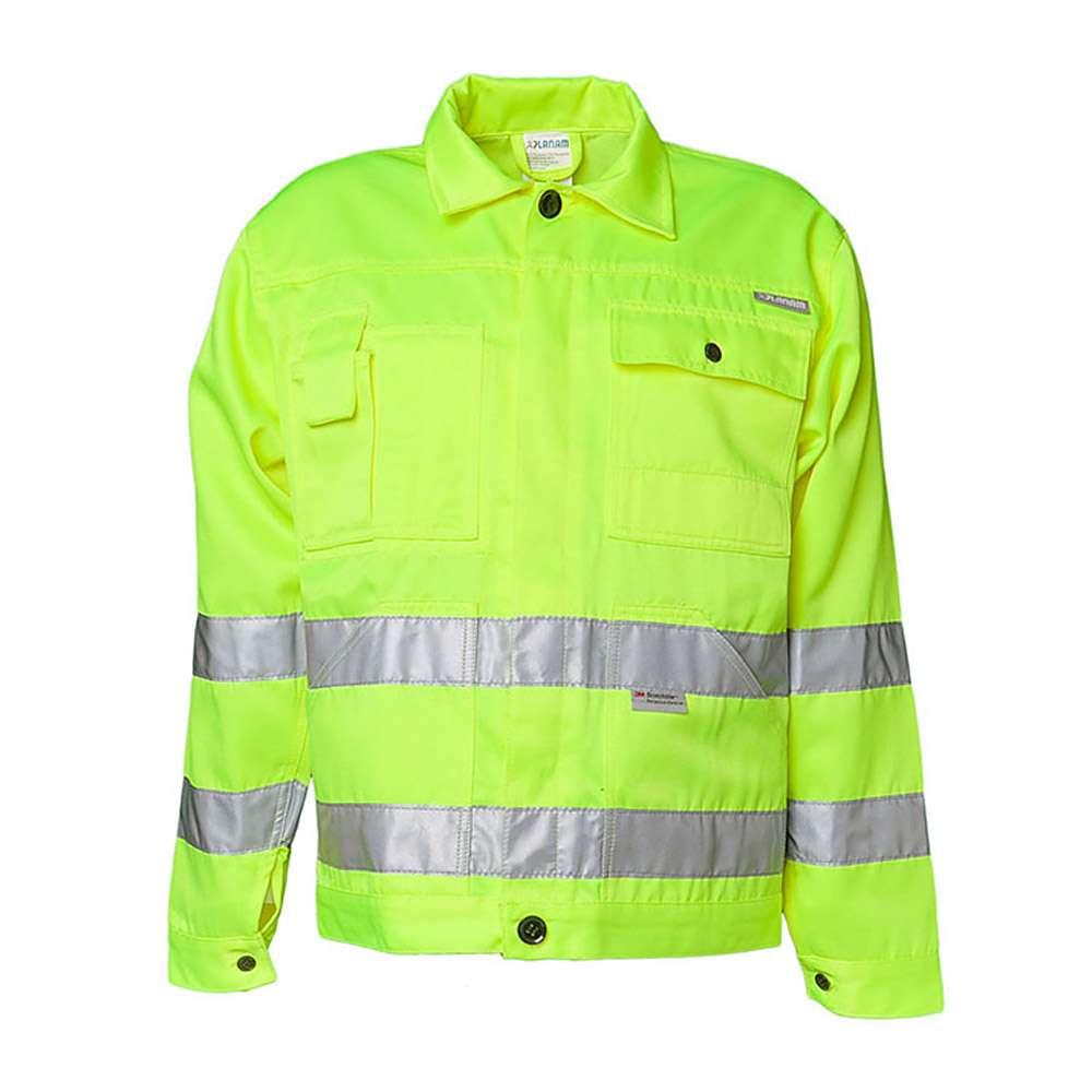 """Colletto della giacca """"visibilità"""" - Planam - 15/85% MG - EN 26330"""