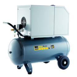Kolbenkompressor SilentMaster 330-10-90 W - bis 10 bar - stationär mit Dauerläufer