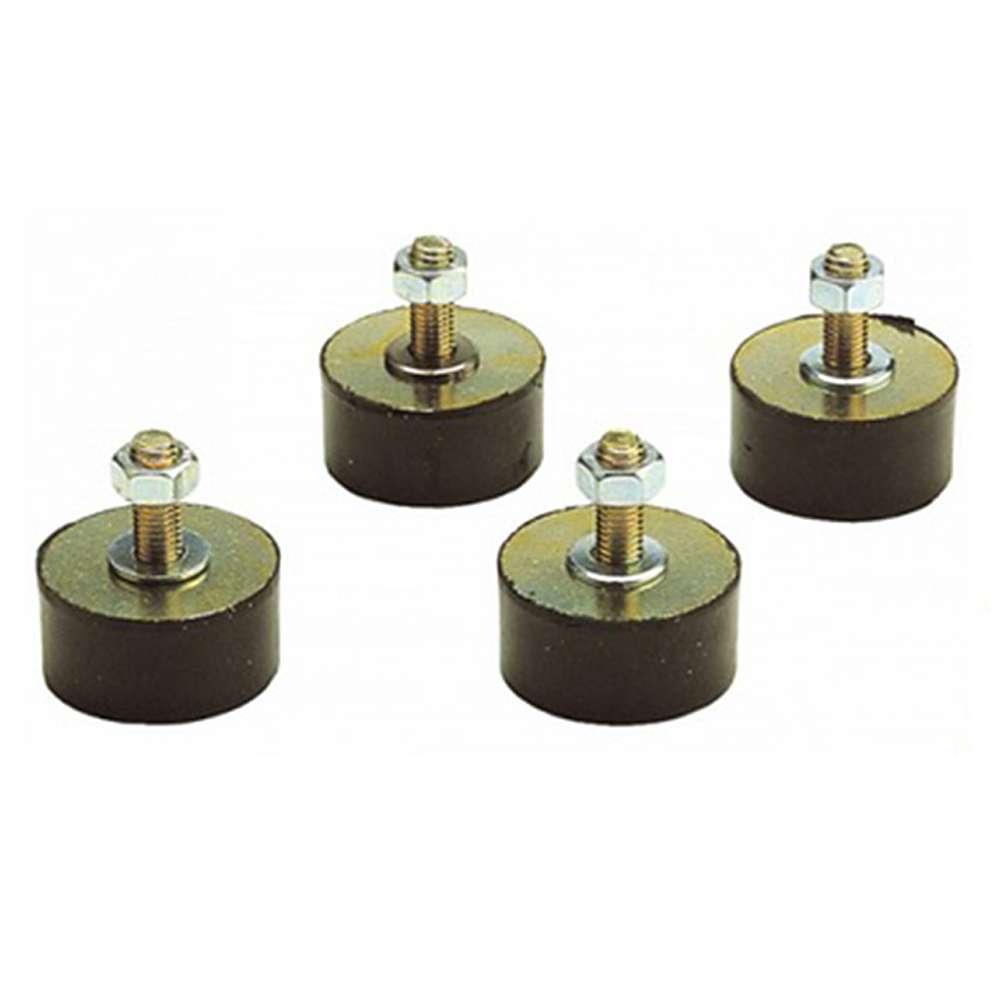 Schwingungsdämpfer - für sicheren Stand von Kompressor und Behälter