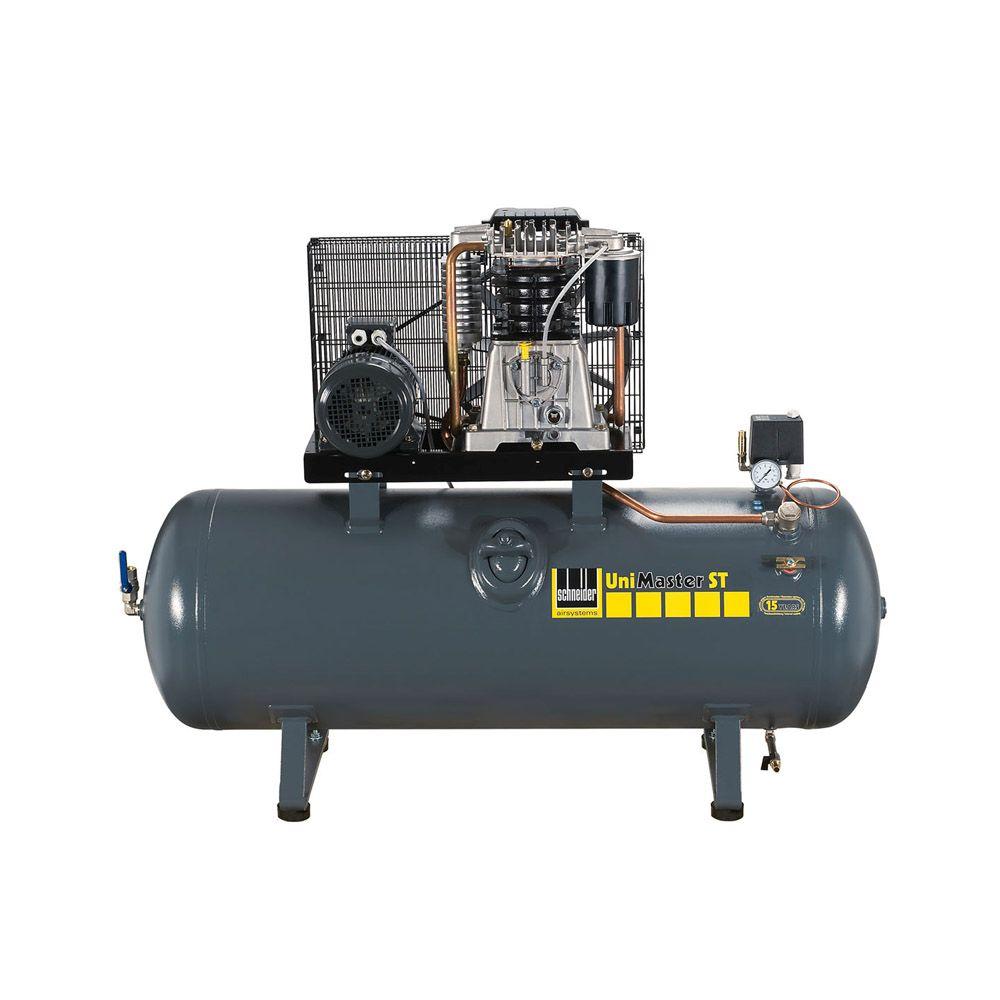 """Kompressor """"UNM STL"""" - schallgedämmt - bis 15 bar - bis 520 l/min"""