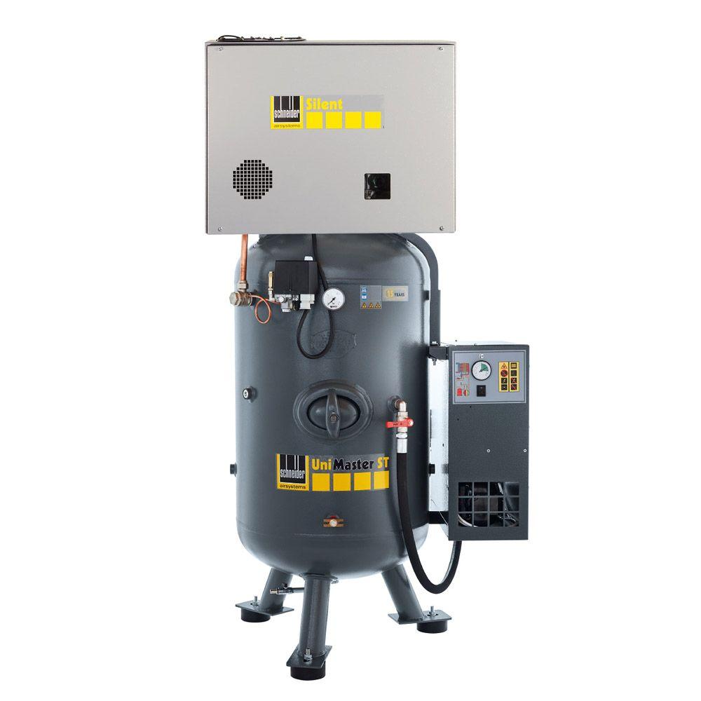 Schneider UNM STS XSDK - Kolbenkompressor - 4 kW - mit Zwischen- und Nachkühler