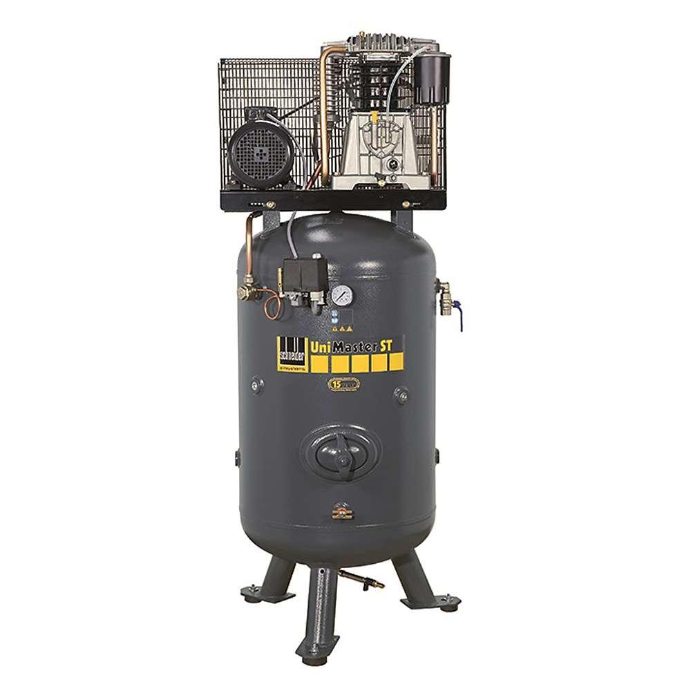 Schneider UNM STS - Kolbenkompressor - stehend - 10 bis 15 bar - mit vormontiertem Sterndreieckschalter