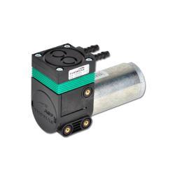 Membranpumpe - Modell 7006 DC - max. Vakuum 150 mbar - Saugleistung 7,5 l/min. - Motorspannung 12 V DC