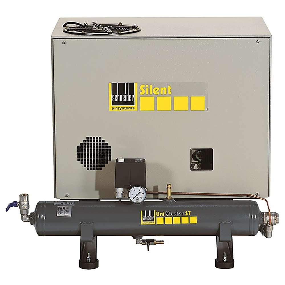 Schneider UNM STB 10 XS - Beistellkompressor - 4 kW - 10 l - geräuscharm
