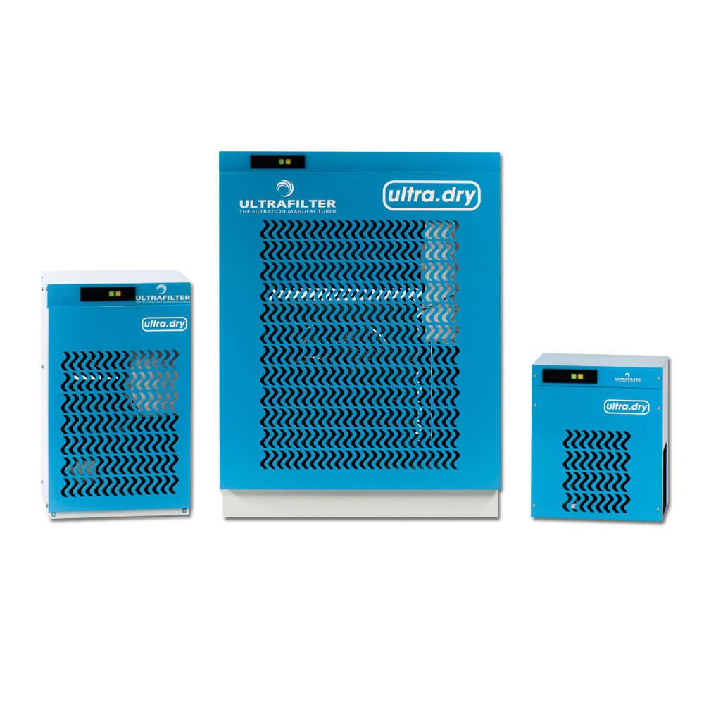 """Sécheur par réfrigération """"Ultra.Pulse"""" - modèle UD 0025 à UD 1650 - connexions Rp 3/8 à 2 1/2 pouces"""