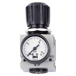 Schneider DM 1/2 W - Druckminderer - 0-12 bar - mit Manometer