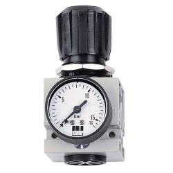 Schneider DM 3/4 W - Druckminderer - 0-12 bar - mit Manometer