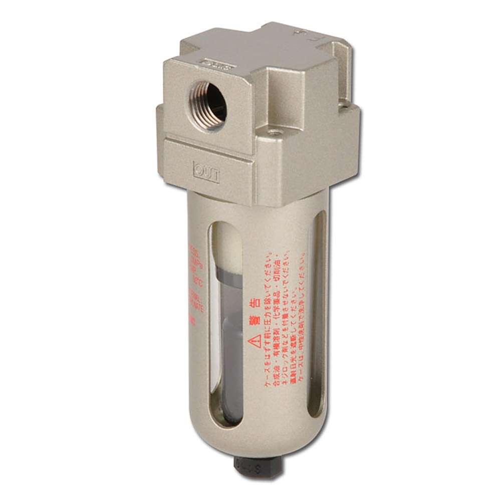 SMC Feinfilter 3µm - 10 bar - bis 1080l/min - autom. Kondensatablass