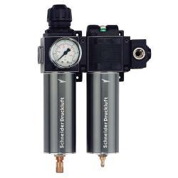 Schneider FDM/FF 1/2 - Filtereinheit - 2-fach - 1,5-12 bar
