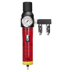 """SATA filter 424 - Filtertechnik - 1-stufiger Sinterfilter mit  Druckregler und Abgangsmodul (2 x 1/4"""" Außengewinde)"""