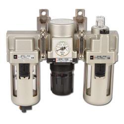 SMC filterreglage - oljesmörjning - manuell kondensavtappning