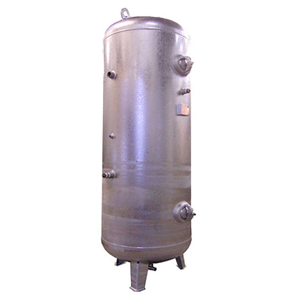 Réservoir à air comprimé - 11 bar - debout - contenu 1000 L.
