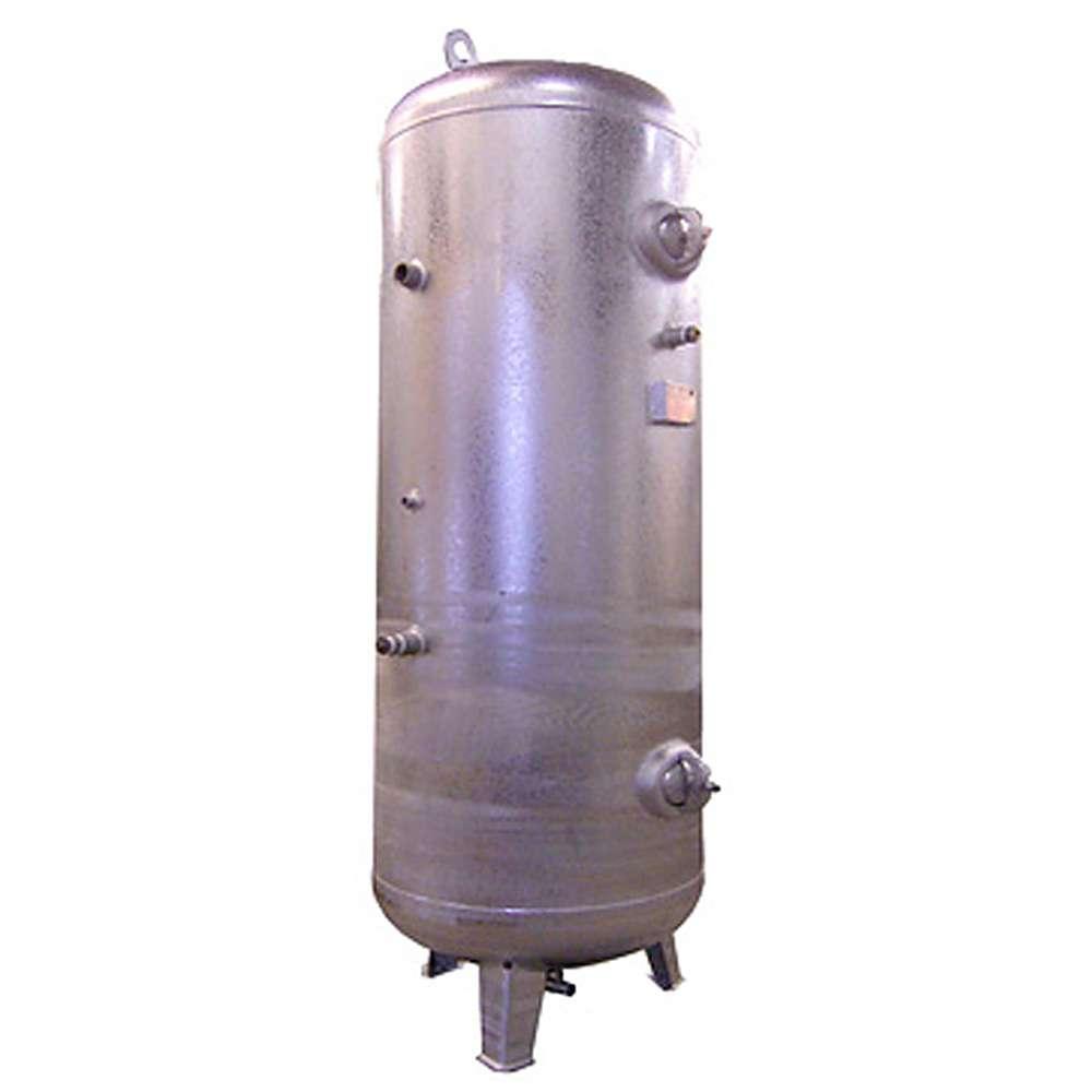 Réservoir d'air comprimé - 16 bar - vertical - capacité de 1500 à 10000 litres