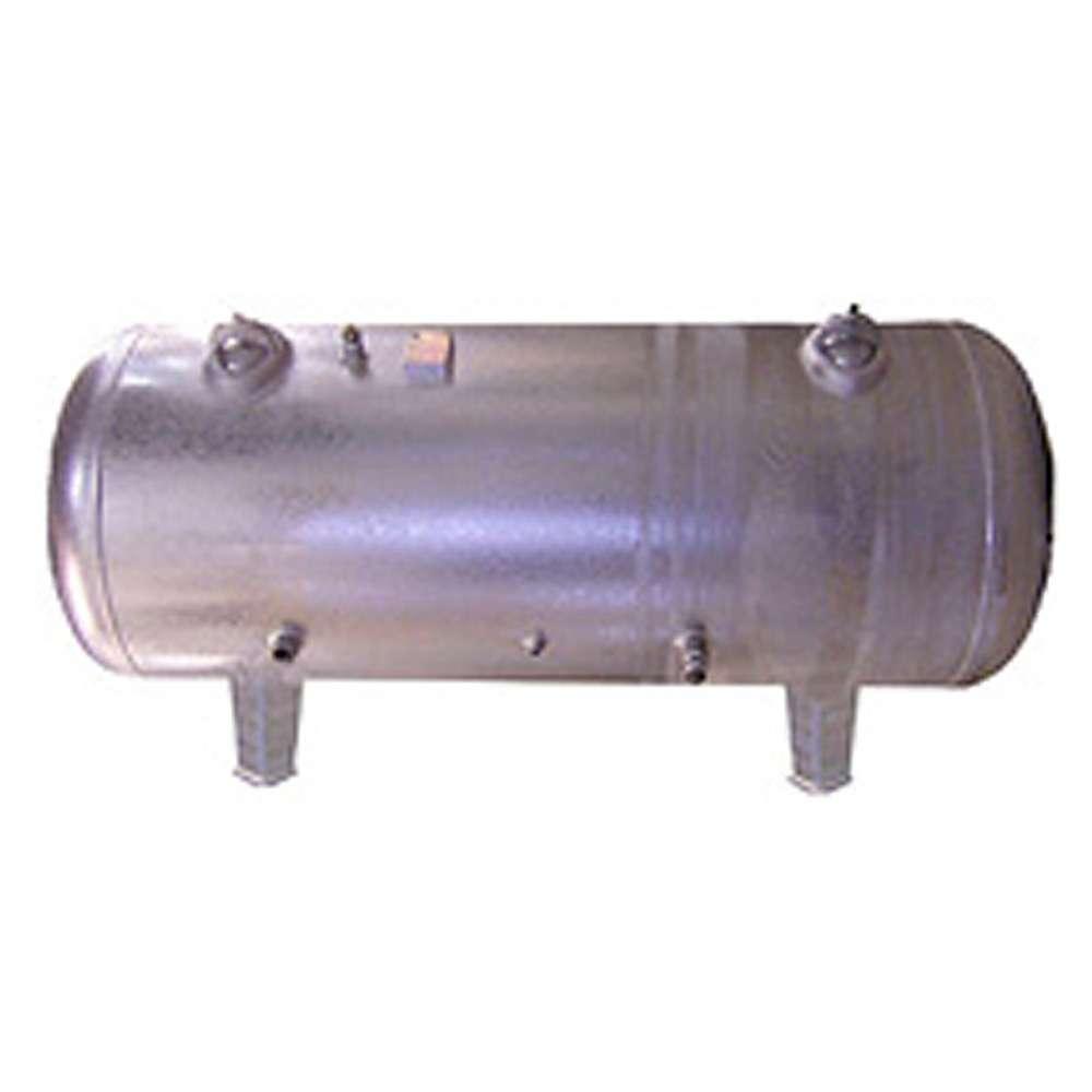 Réservoir d'air comprimé - 16 bar - horizontal - capacité de 150 à 500 litres