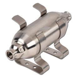 Réservoir à air comprimé - Réservoir à vide - 16/-1 bar - 0,1 à 0,75 l.