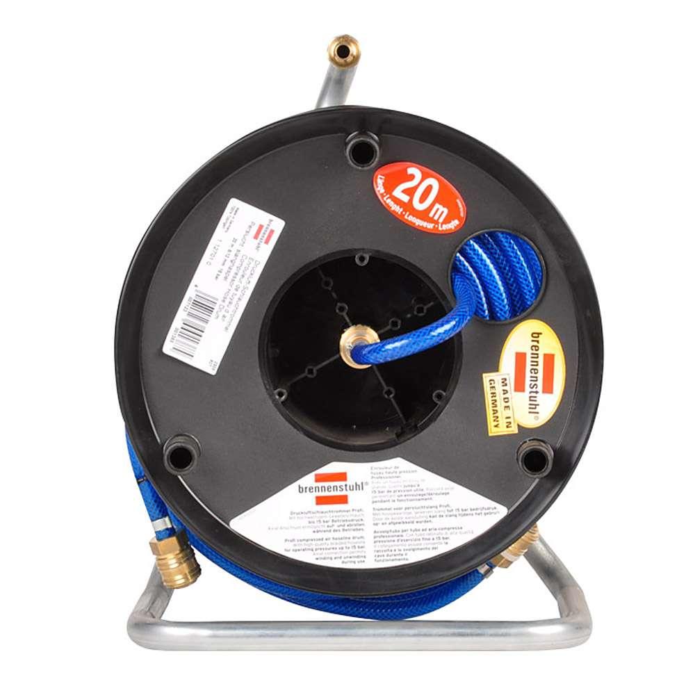 Druckluftschlauchtrommel 20 m - Ölbeständig Axial-Anschluss